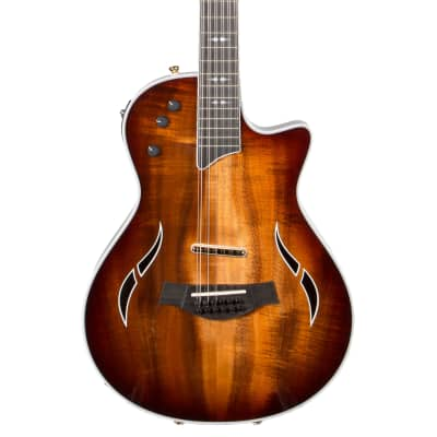 Taylor T5Z-12 Custom 12-String Thinline Acoustic Electric Guitar with Case for sale