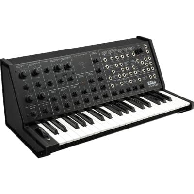 Korg MS-20 FS Monophonic Analog Synthesizer 37 Mini Keys Black