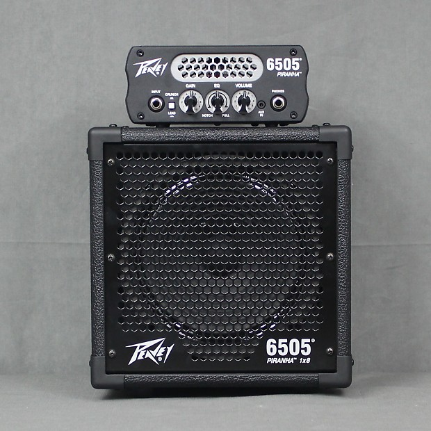 peavey 6505 piranha 1x8 micro half stack reverb. Black Bedroom Furniture Sets. Home Design Ideas