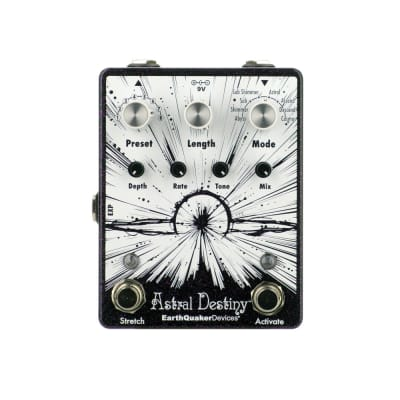 Earthquaker Devices Astral Destiny Octave Reverberation Machine, Purple Sparkle (Gear Hero Exclusive)