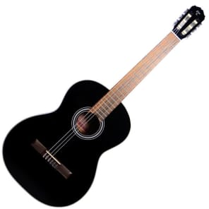 Takamine GC1 BLK Classical Acoustic Guitar, Black, GC1BLK for sale