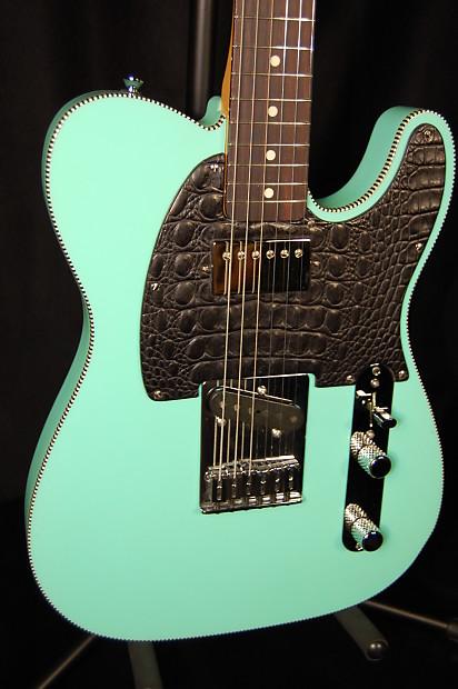 Fender Telecaster Seafoam Green w/ rickenbacker Binding, Alligator  Pickguard and Jason Lollar!