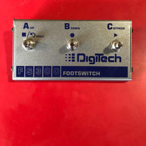 DigiTech FS300 Footswitch Silver for sale