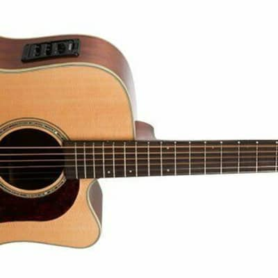 Washburn Heritage 100 Series | HD100SWCEK Acoustic Electric Guitar New Open Box