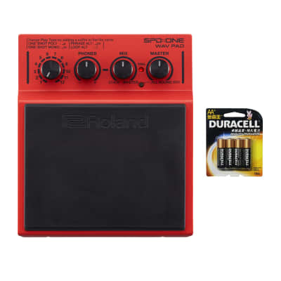 Roland Spd one Wav Pad Percussion Pad With 4-pack of AA Batteries