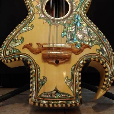 Roberto Acha Guitarras Guitar Bajo Quinto, Beautiful Custom Bajo Quinto