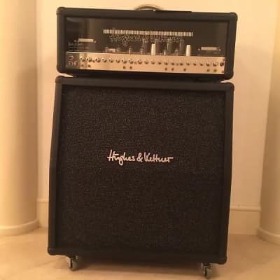 "Hughes & Kettner TriAmp MK II Alex Lifeson Signature Edition 6-Channel 100-Watt 4x12"" Guitar Amp Half Stack"