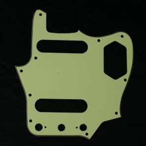 Replacment Pickguard For Jaguar style Guitar ,3Ply Mint Green /Japan Reissued