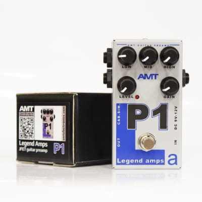 AMT Electronics Legend Amps P1 Distortion
