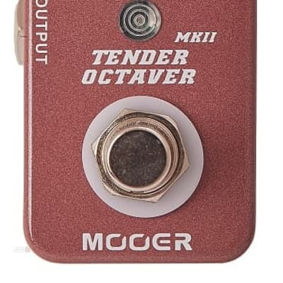 Mooer Tender Octaver MKII Precise Octave Pedal for sale