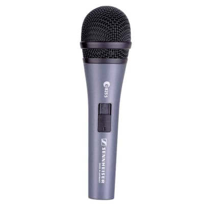 Sennheiser e825-S Handheld Cardioid Dynamic Microphone with On / Off Switch