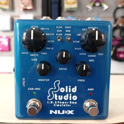NuX Solid Studio IR and Power Amp Simulator