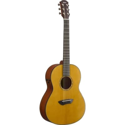 Yamaha CSF-TA TransAcoustic Vintage Natural Acoustic/Electric Guitar w/ Gigbag