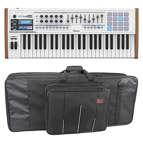 KeyLab 49 49-Note MIDI Keyboard Controller w Software (B-Stock) W/ Kases  5-KB Keyboard Bag