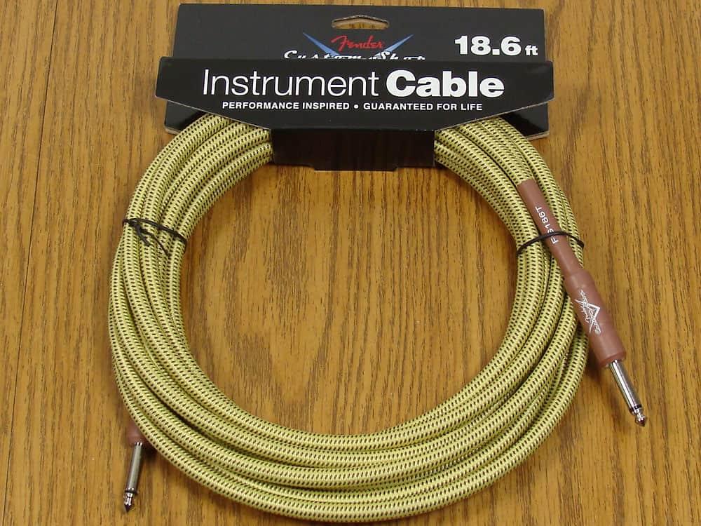 new fender custom shop 18 6 39 tweed cord cable guitar reverb. Black Bedroom Furniture Sets. Home Design Ideas