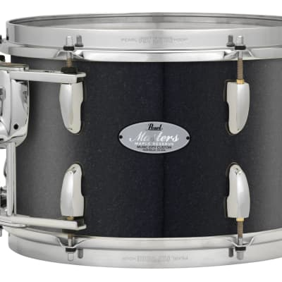 """Pearl Music City Custom Masters Maple Reserve 20""""x14"""" Bass Drum w/BB3 Mount MRV2014BB - Charcoal Black Sparkle"""