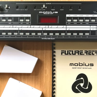 Future Retro Mobius Midi & CV Sequencer  2000s Black