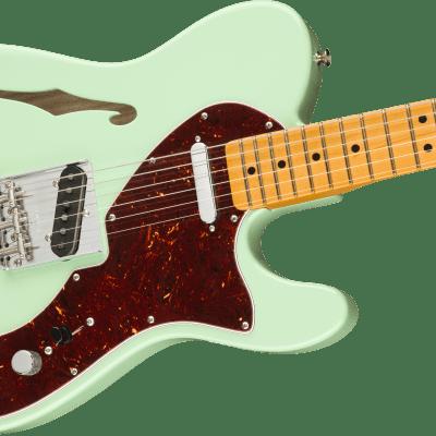 NEW for 2020! Fender American Original '60s Telecaster Thinline -  Surf Green - Authorized Dealer