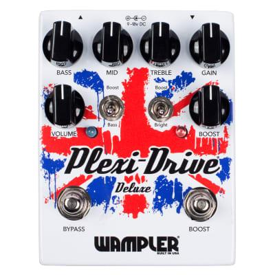 New Wampler Plexi Drive Deluxe Guitar Effects Pedal; Authorized Dealer! Full Warranty!