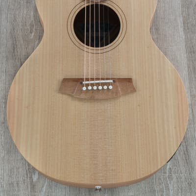 Cole Clark Angel 1 Series Auditorium AN1E-BM Acoustic-Electric Guitar, Bunya Top, Queensland Maple for sale