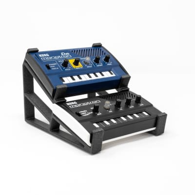 3DWaves Dual Tier Stands For The Korg Monotron Synthesizers