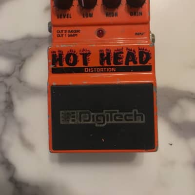 Digitech X-Series DHH Hot Head Analog Distortion Overdrive Guitar Effect Pedal for sale