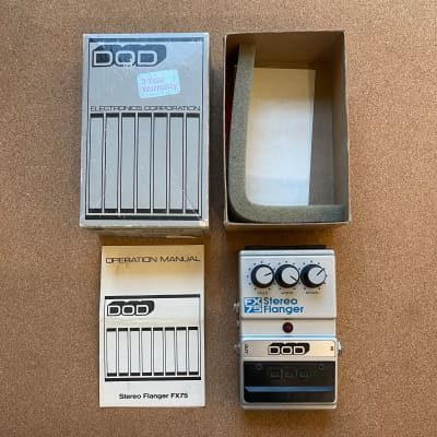 DOD Stereo Flanger FX75 (Made in USA)