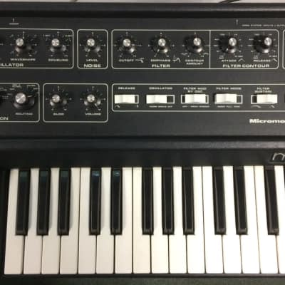 Moog Micromoog  Synthesizer NOS Klassiker RARE 1975 - probably the last one on the market as NOS