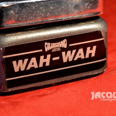 Colorsound Sola-Sound wah 1979 for sale