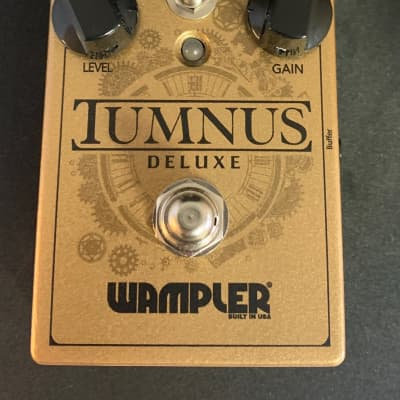 Wampler Tumnus Deluxe Transparent Overdrive Pedal - Opened Box, Immaculate with full warranty