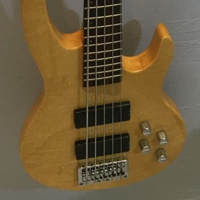 Brice 5 string active bass, beautiful, local pickup only