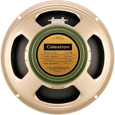 """Celestion Heritage G12M 20W, 12"""" Vintage Guitar Speaker Regular  8 Ohm"""