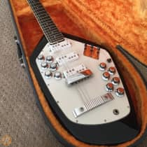 Vox Vox Phantom XII Stereo  12-String Guitar 1966 Black image