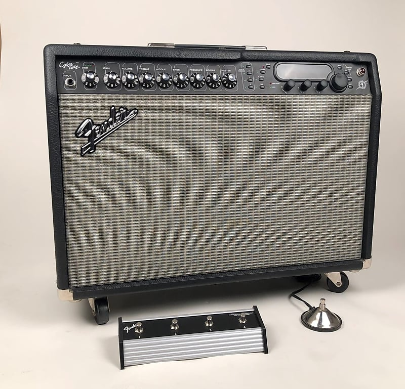 fender cyber twin 2x12 combo modeling amp with two reverb. Black Bedroom Furniture Sets. Home Design Ideas