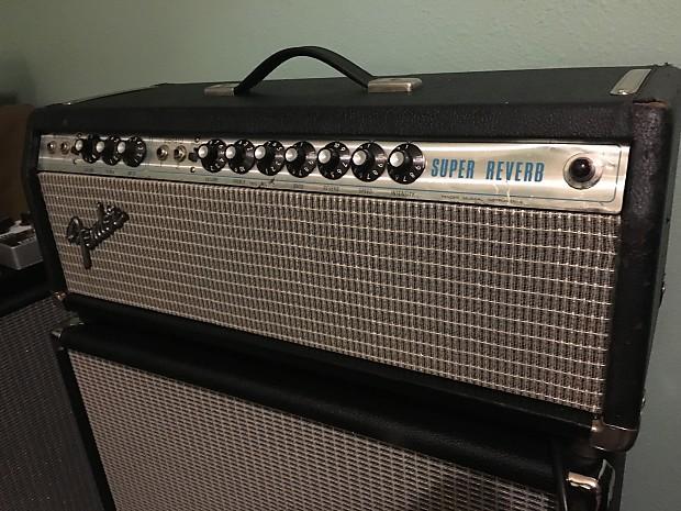 Vintage Fender Super Reverb Head 1973