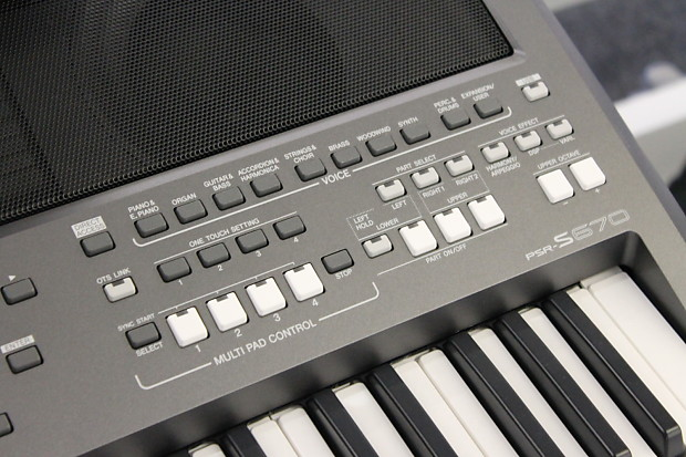 Yamaha PSR-S670 61-Key Professional Digital Keyboard (Display Model)