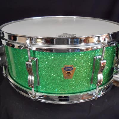 Ludwig Classic 5.5x14' 1960 Green Sparkle