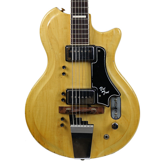 G.E. Smith's Vintage 1961 Supro Val Trol Electric Guitar Natural on