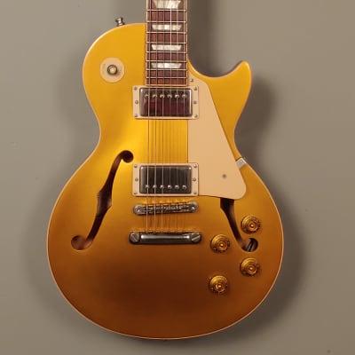 2014 Gibson Memphis ES Les Paul Goldtop florentine  With OHSC