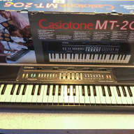 Casio Casiotone MT-205 1980's Black