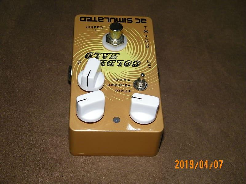 caline golden halo acoustic simulator electric guitar fx reverb. Black Bedroom Furniture Sets. Home Design Ideas