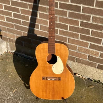 '1950s  Kamico Flat top guitar by Kay -Project for sale