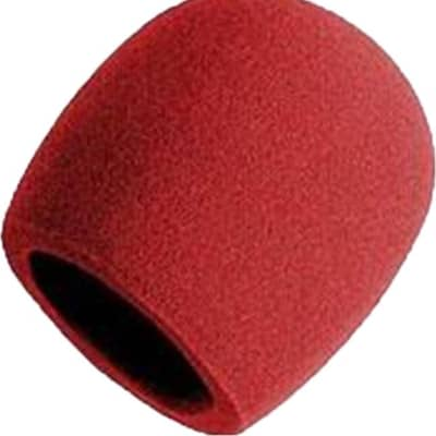 Hamilton Foam Microphone Windscreen Cover - Red
