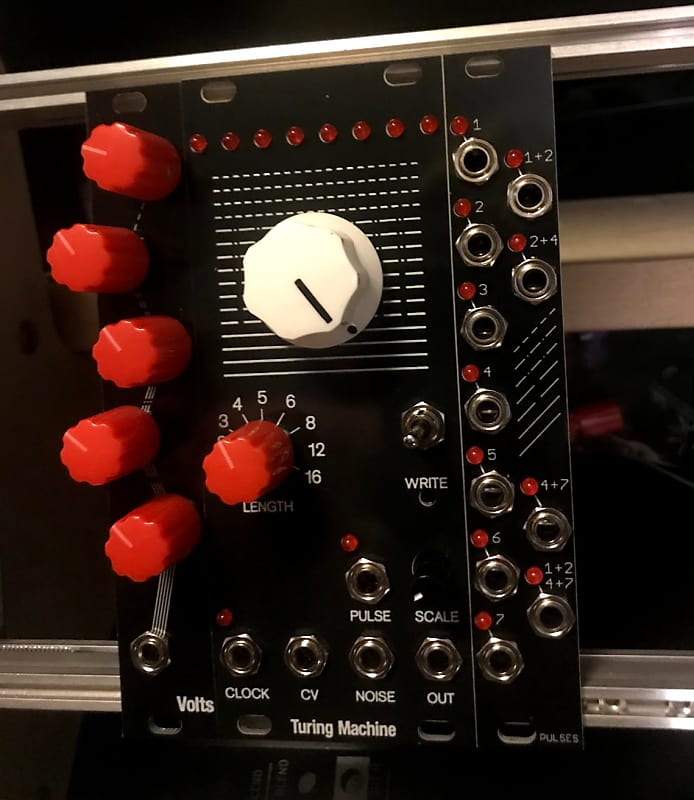 Music Thing Modular Pulses MK2 Turing Machine Expander Aluminium Eurorack Module