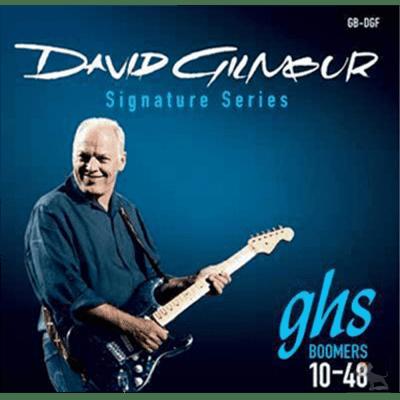 GHS David Gilmour Signature Series Electric Guitar Strings Blue Set (10-48)