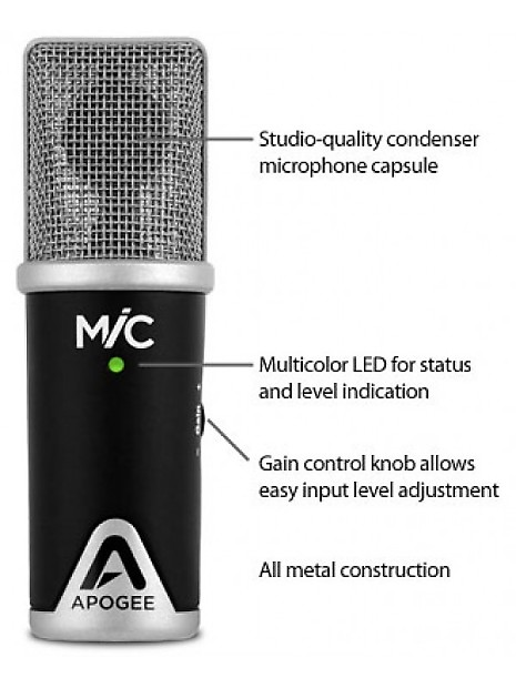 Apogee mic stand adapter
