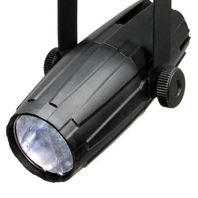 Chauvet DJ LED Pinspot 2 Compact Hard Edge LED Pinspot w/ Multiple Lenses for Beam Angles
