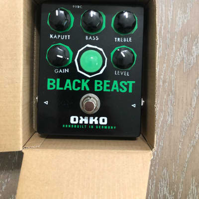 OKKO Black Beast Fuzz Distortion mint in box.  Excellent Fuzz / Distortion tones. for sale