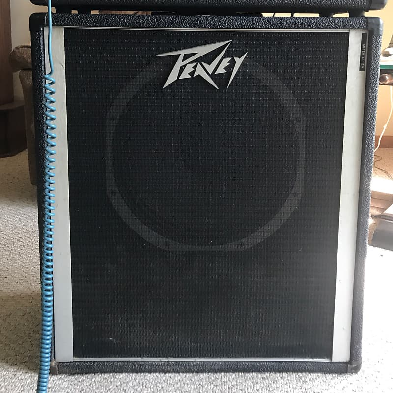 Peavey 115 Bass Cabinet With Black Widow Speaker Reverb