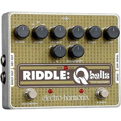 Electro-Harmonix Riddle Envelope Filter Guitar Effects Pedal Regular